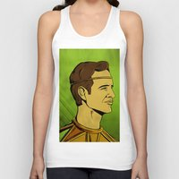 watchmen Tank Tops featuring It's Always Sunny in Watchmen - Dennis by Jessica On Paper