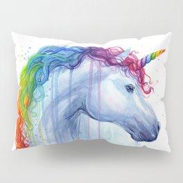 Magical Rainbow Unicorn Pillow Sham