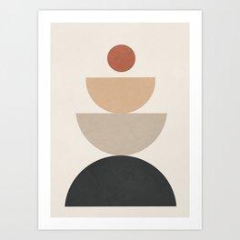 Geometric Modern Art 31 Art Print