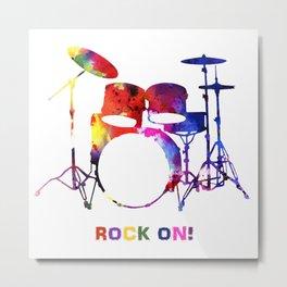 Rock On! Metal Print