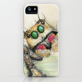 spider hugs iPhone Case