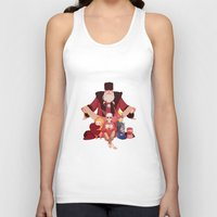 valentines Tank Tops featuring Happy Valentines  by DustyLeaves