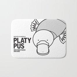 Platypus, Wildlife of Australia Bath Mat