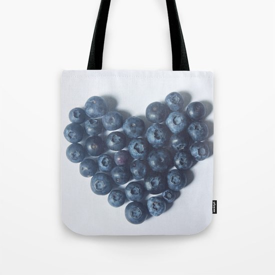 Blueberry Love Tote Bag