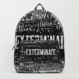 Exterminate 1 Backpack