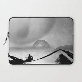 Black Space Song Laptop Sleeve