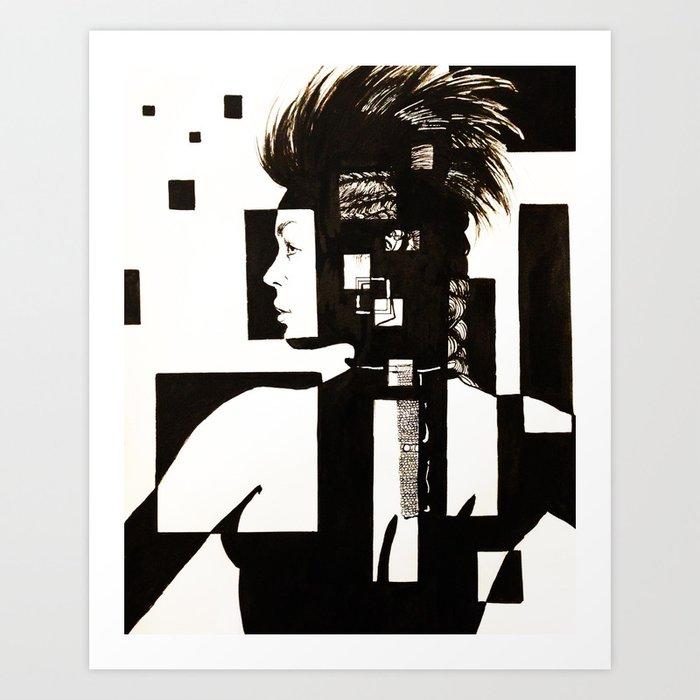foreshadow (1) Art Print