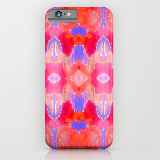 Watercolour Ikat III iPhone & iPod Case