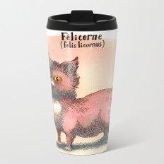 Felis Licornus Metal Travel Mug