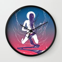 She's a River Wall Clock