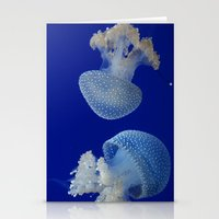 jelly fish Stationery Cards featuring Jelly Fish by Eternal