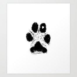Paw Love Art Print