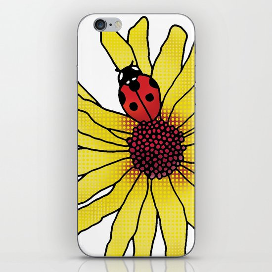 Little Lady Bug iPhone & iPod Skin