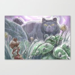 Arrietty and the Colossus Canvas Print