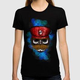 Mario Style Errorface skull T-shirt