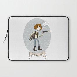 Star Wars fan-girl Laptop Sleeve