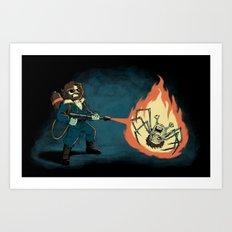 KILL IT WITH FIRE Art Print