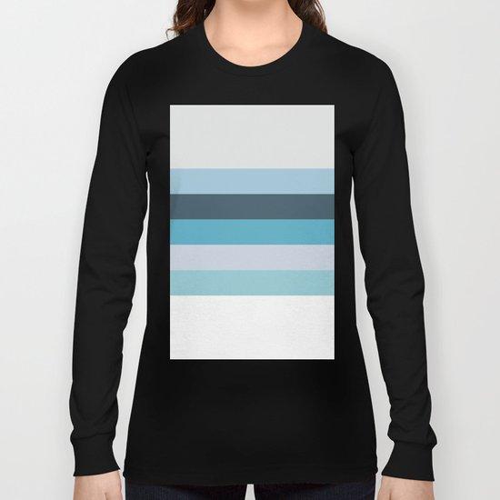 Summer Shades of Blue Long Sleeve T-shirt