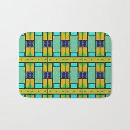 Shapes pattern Bath Mat