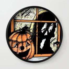Halloween Haunt Wall Clock