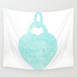 Tiffany heart locket charm Wall Tapestry