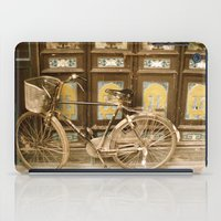 bicycle iPad Cases featuring Bicycle by Gurevich Fine Art