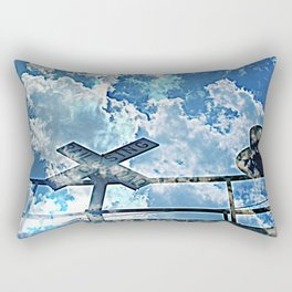 A Place In The Clouds Rectangular Pillow