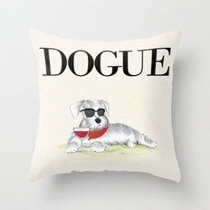 Dogue Throw Pillow