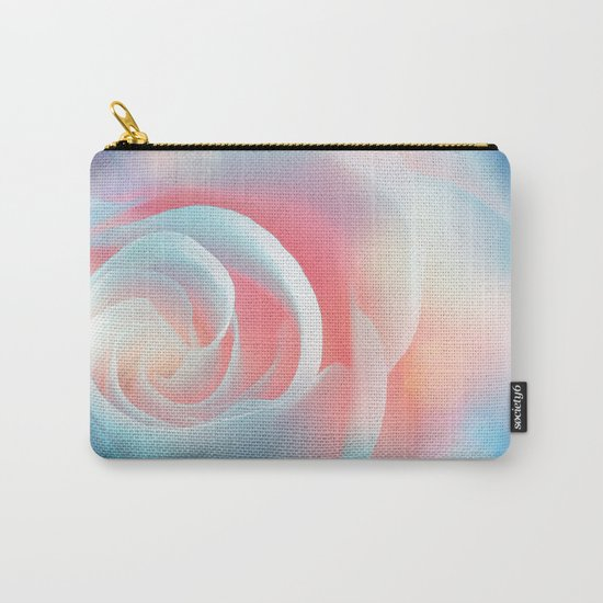 Rose flower and bokeh- Roses Carry-All Pouch