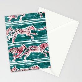 SPEEDY CHEETAHS Stationery Cards