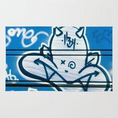 Blue Devil Rug