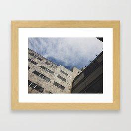 Tent city vista  Framed Art Print