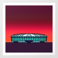 Metrodome Art Print