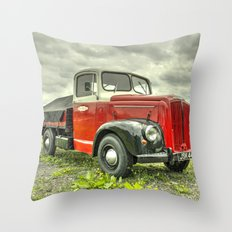 Morris Commercial Pickup Throw Pillow