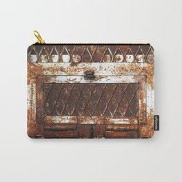 Rusted Door Carry-All Pouch