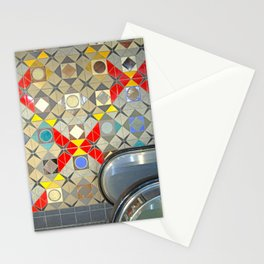Detroit People Mover Art Broadway Fort and Cass Stationery Cards