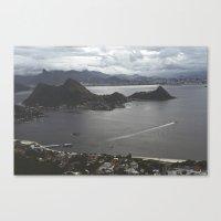 brazil Canvas Prints featuring Brazil by Lance Sitton
