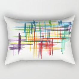 Colour Thatch Rectangular Pillow