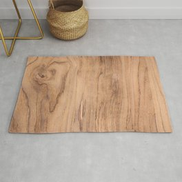 Wood Surface Rug