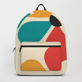 Mid Century Flower Backpack