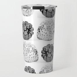 Silver fruits Travel Mug