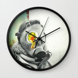 Lung Blood Wall Clock