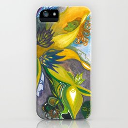 Waterlily Masquerade iPhone Case