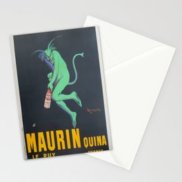 Vintage poster - Maurin Quina Stationery Cards