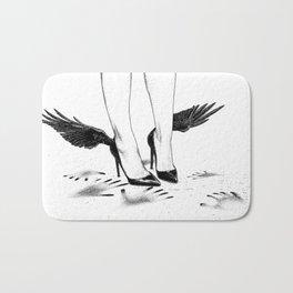 asc 870 - Le plafond de verre (Hands and wings) Bath Mat
