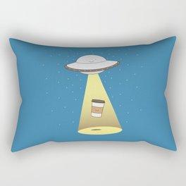 coffee abduction Rectangular Pillow