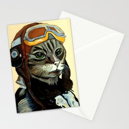 """Mike - Echo - Oscar - Whiskey"" MEOW Stationery Cards"