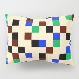 Square Grid II Pillow Sham