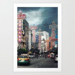 Chinatown - Bangkok - Thailand Art Print