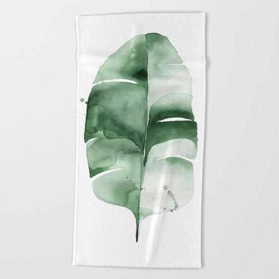 Banana Leaf no. 6 Beach Towel